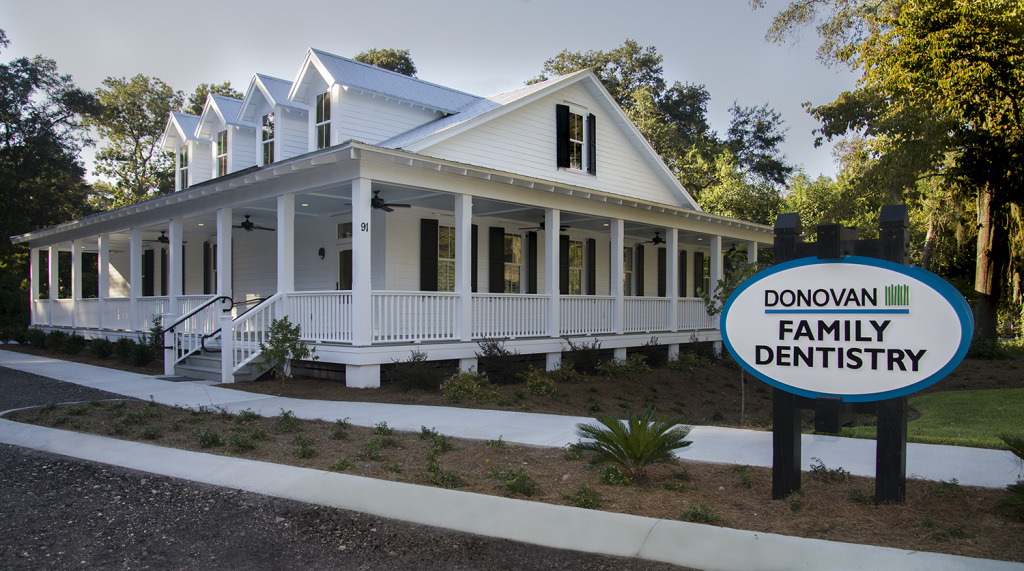 Frontage Donovan Family Denistry Beaufort SC Proof